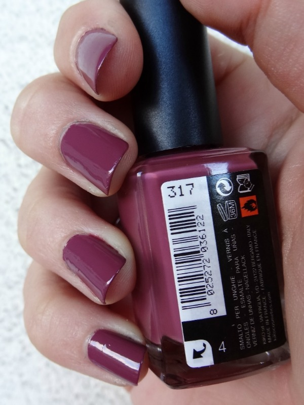 Dark Antique Pink 317 - Kiko