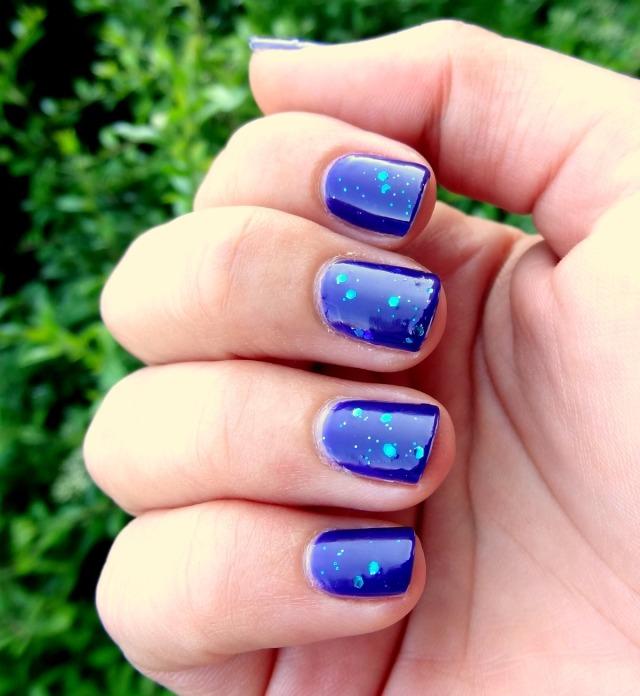 Purple & Sparkles