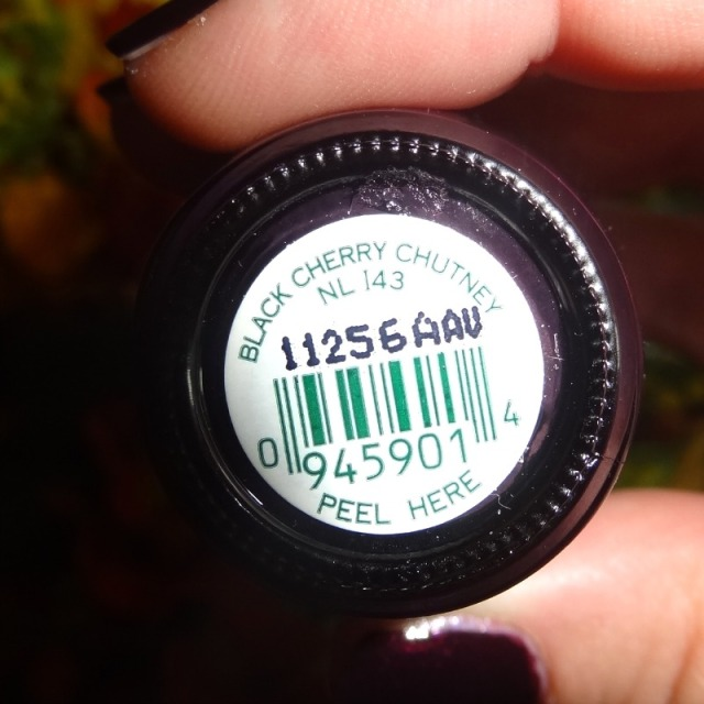 Black Cherry Chutney OPI