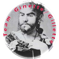 Badge Ginette / Gilette